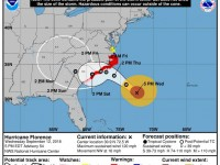 Hurricane Florence - Wednesday 5 PM Update