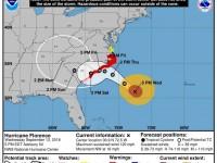 Hurricane Florence: Wednesday 5 PM Update