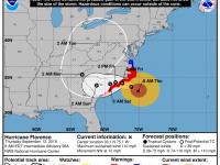 Hurricane Florence: Thursday 8 AM Update