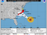 Hurricane Florence - 8 AM Update