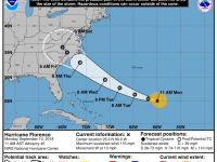 Hurricane Florence - 11 AM Update