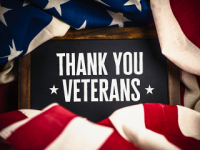 2018 Veterans Day Holiday Notice